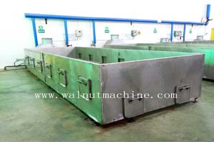 Walnut drying machine